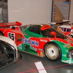 Mazda 787B at Le Mans Museum