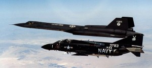 SR-71 and F4