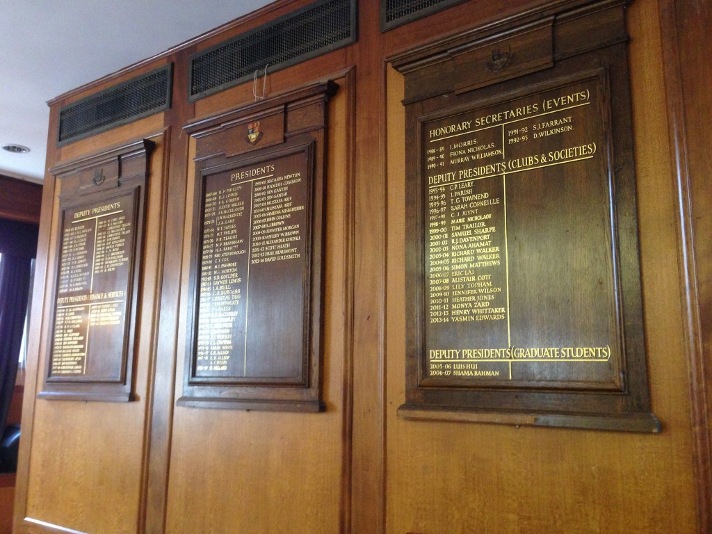 Honour Boards