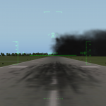Accidentally bombed the runway!