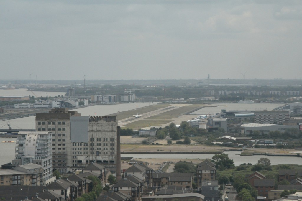 City Airport from Cable Car