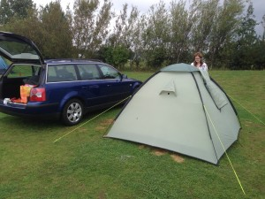 The Beast, Tent and Sal's Head