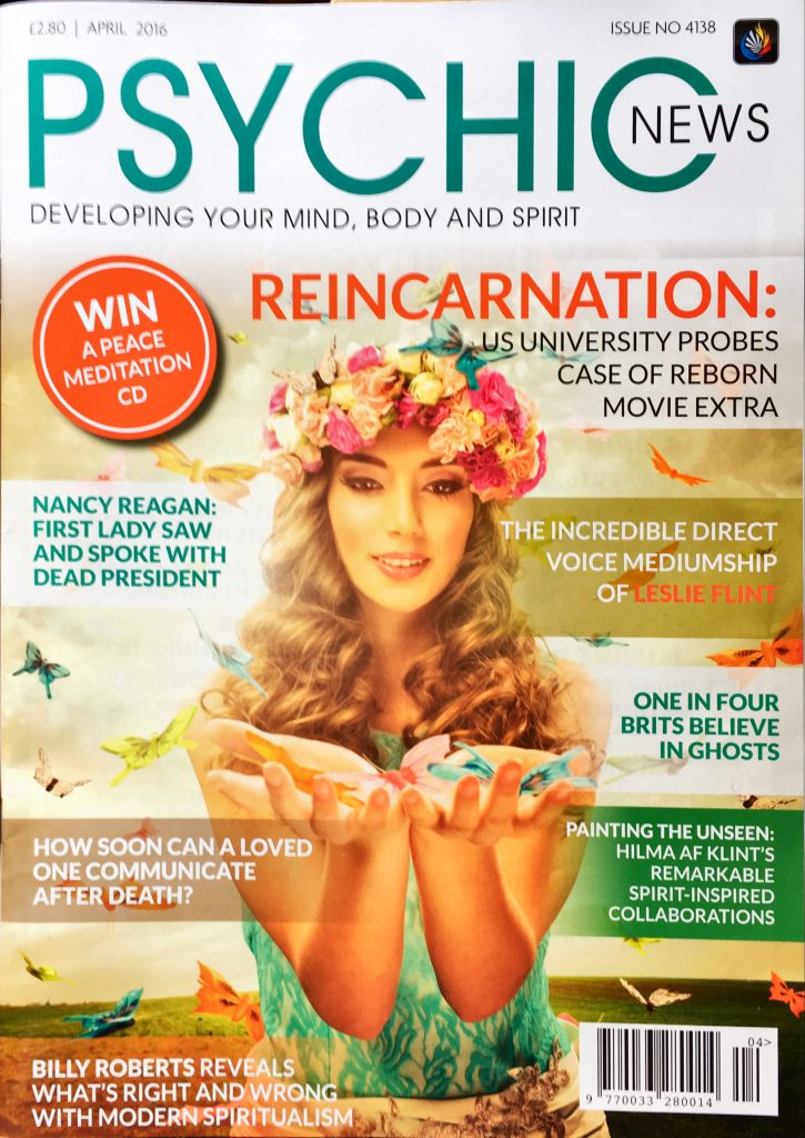 Psychic News Front Cover