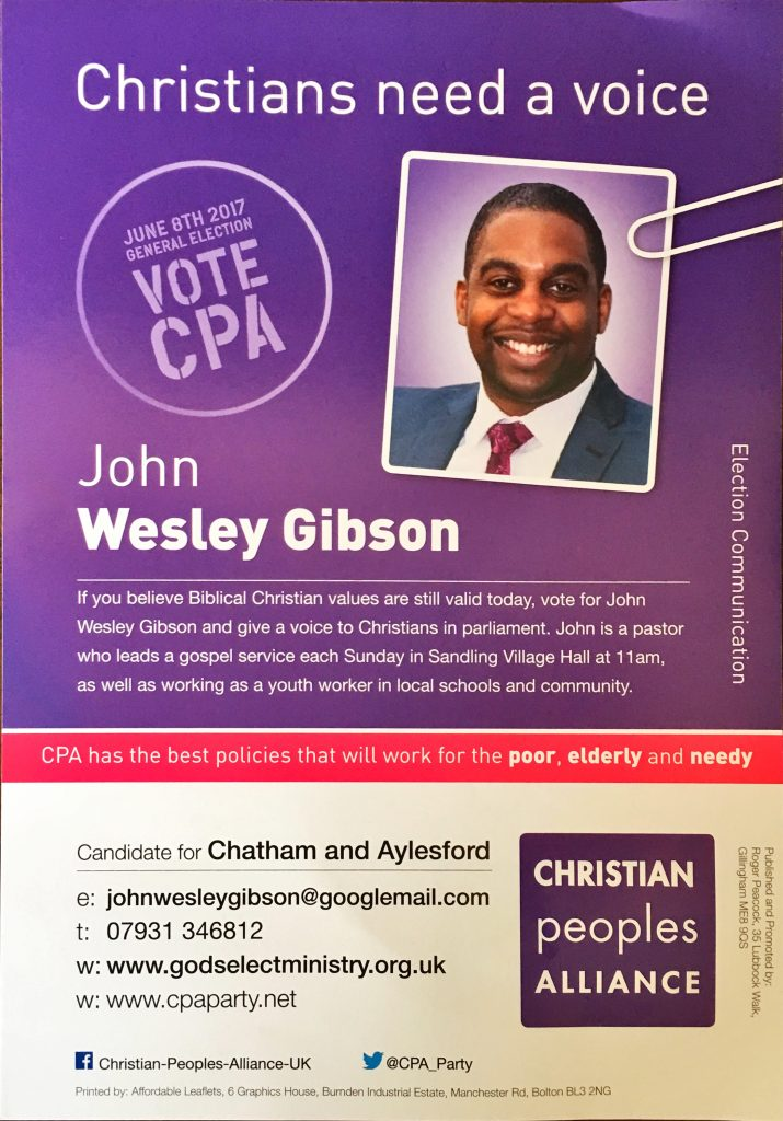 CPA Front Leaflet