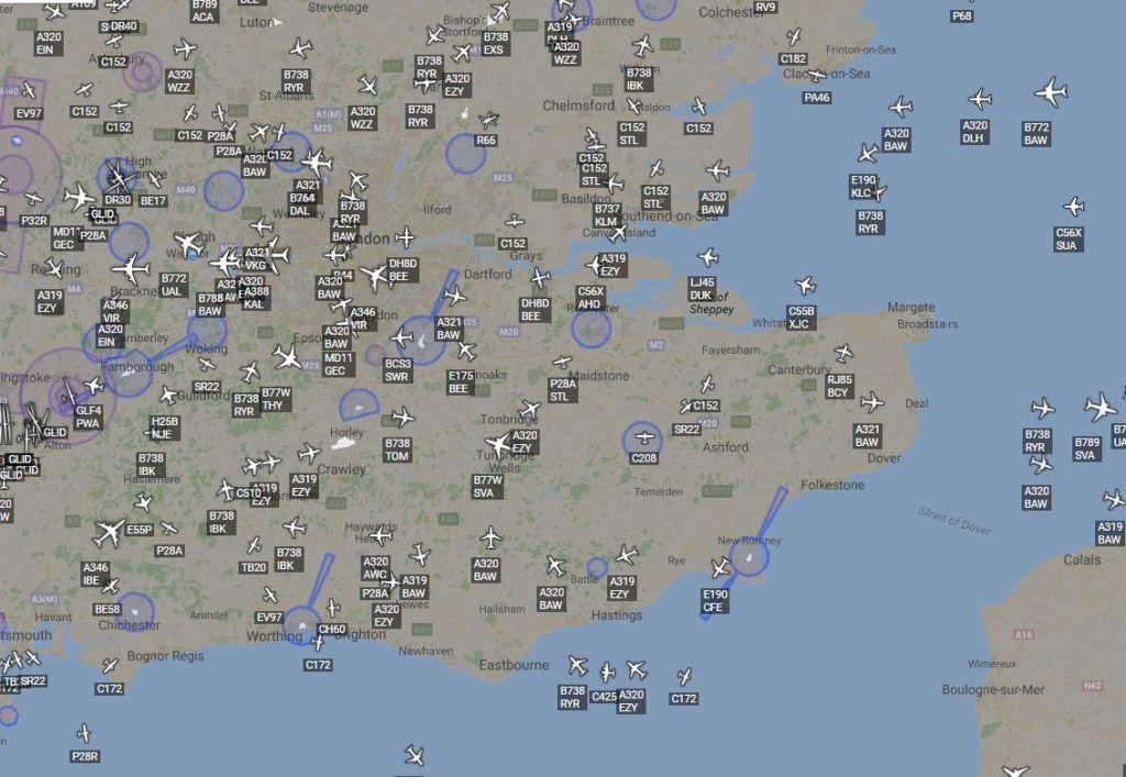 Kent Air Traffic