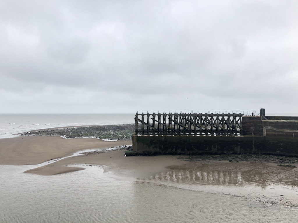 Maryport Harbour Wall