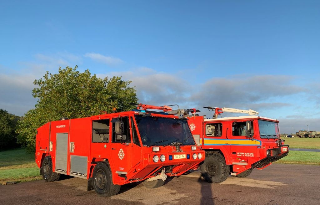 Fire Appliances from Ascension Island