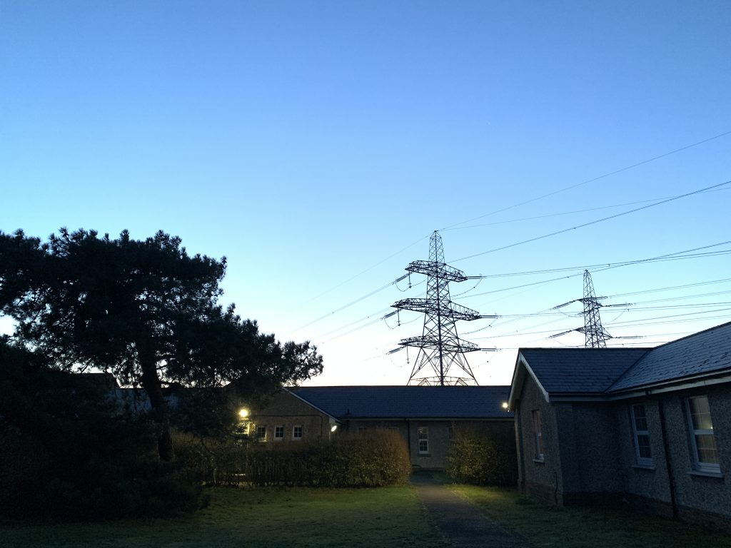 Lydd Camp Powerlines