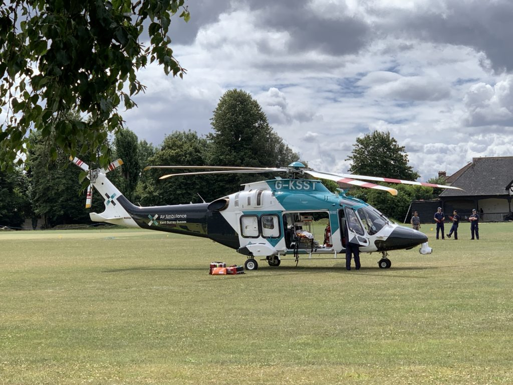 Specialist Aviation Services Kent Air Ambulance